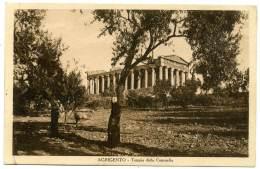 P.955  AGRIGENTO - Girgenti - Tempio Della Concordia - Agrigento