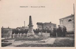 PRESSIGNY MONUMENT AUX MORTS - Autres Communes