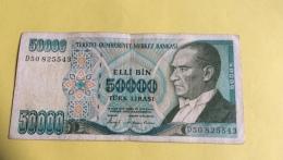 Turquie : Billet De 50 000 Lira, 1970 (50825543) - Turchia