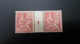 Mouchon N° 116  Neuf ** Gomme D'Origine Avec Millésime 1 à 12% De La Cote Etat Bien - 1900-02 Mouchon