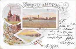 Gruss Aus Borkum. (Voir Commentaires) - Borkum