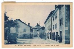Boege    Grande Rue Avec Tacot  1935 - Boëge