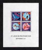1971 - Oceania - Polinesia Francesa -  Sc. C77a - MNH - PO-118 - Blokken & Velletjes