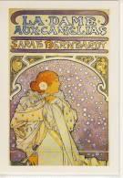 Alphonse MUCHA - Sarah Bernhardt,  La Dame Aux Camelias, 1896, Auflage Parkland Verlag Um ´70 - ´80 - Mucha, Alphonse