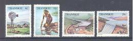 Transkei  Michel #   54 - 57   **   Wasser / Water Management - Umweltschutz Und Klima