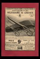 PUBLICITES - CISEAUX - Publicité Issue D´une Revue De 1922 Collée Sur Feuille A 4 - Publicités