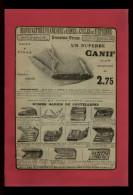 PUBLICITES - COUTEAUX CANIF - Publicité Issue D´une Revue De 1912 Collée Sur Feuille A 4 - Pubblicitari