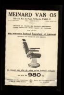 PUBLICITES - COUFFURE - Fauteuil De COIFFEURS -Publicité Issue D´une Revue De 1929 Et Collée Sur Feuille A 4 - Publicités