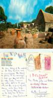 Necropoli, Ostia Scavi,  Isola Sacra, Italy Postcard Posted 1975 Stamp - Italia