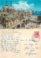 San Marco, Venezia, VE Venezia, Italy Postcard Posted 1962 Stamp - Venezia