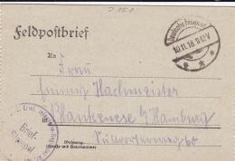 Feldpost WW1: Infanterie Regiment 151 P/m 10.11.1918 - Letter Inside  (SKO10-51) - Militaria
