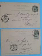 Gele Briefkaart Carte Postale - Anvers < Anvers ( Avocat ) : Anno 1892/1897 ( Zie Foto Details ) !! - Belgique