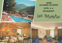 ALLEVARD HOTEL RESTAURANT LES PERVENCHES - Allevard