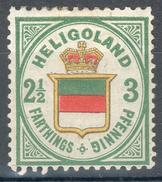 Helgoland Mi.-Nr.17* , Fein/feinst