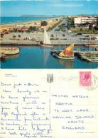 Lungomare, Riccione, RN Rimini, Italy Postcard Posted 1961 Stamp - Rimini