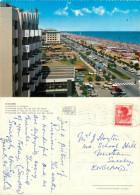 Lungomare, Riccione, RN Rimini, Italy Postcard Posted 1965 Stamp - Rimini