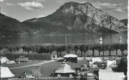 AK 0490  Altmünster Am Traunsee , Schweizerhof , Campingplatz Um 1960 - Traun