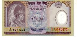 Nepal P.45   10 Rupees 2001  Unc - Nepal