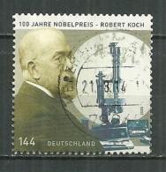 DEUTSCHLAND 2005 Oblitéré 2321 Robet Koch Prix Nobel De Physiologie Médecine Santé Tuberculose - [7] Federal Republic
