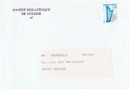 MUS-L87 - FRANCE Préoblitéré N° 202 Harpe Sur Lettre - Vorausentwertungen