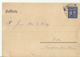 - DR GS 1922 BERLIN - Stamped Stationery