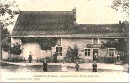 CARTE POSTALE ANCIENNE DE CORGIRNON -  AVENUE DE LA GARE - épicerie Jeanne D'arc - Autres Communes