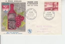 1955 -  FDC  N° 1036 - FDC