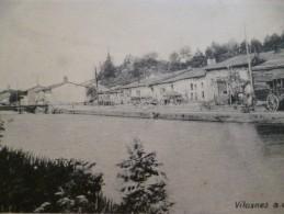 CPA 55 Meuse Vilosnes A;d; Maas édition Allemande - Francia