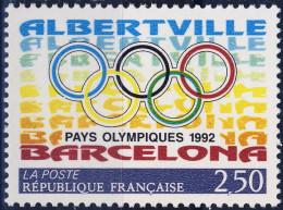 2760  JO   à BARCELONE  NEUF** ANNEE 1992 BORD De FEUILLE - Nuovi