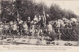 Baccarat - Cérémonies Du 22 Juillet 1917 - Général Marchand - Baccarat