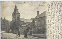 54, Meurthe Et Moselle,REHON,environs De Longuy, L´Eglise, Personnages, Scan Recto-Verso - Autres Communes
