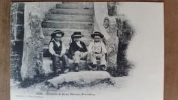 Enfants De Saint-herbot.costumes Bretons. Precurseur Waron N ° 1020 - Plonevez-du-Faou