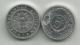 Netherland Antilles 5 Cent 1989. UNC - Antillas Nerlandesas