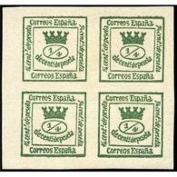 ES130STV-LFT***130BL4.España.Spain. Espagne.Reina .CORONA MURAL .1873.(Ed 130**)  Sin  Charnela - Nuevos
