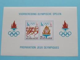 1978 Voorbereiding Olympische Spelen - BLOK 53 ( Voor Details - Zie Foto ) - Blocs 1962-....