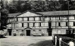 - Depts Div.-ref-JJ644- Ariege  - Ussat Les Bains - Grand Hotel Du Parc - Hotels - Voiture - Voitures - Automobile - - Francia