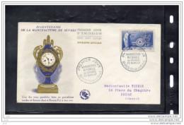 FRANCE N° 1094 - Manufacture De Sèvres - 1950-1959