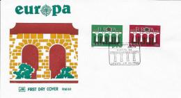 N° 685 / 686      EUROPA  MALTE  -  1984  -  FDC - Malta