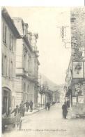DIEULEFIT - Hotel De Ville Et Rue De La Poste , Bon état ( Voir Scan ) - Cartoline