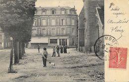 Mouy (Oise) - Grand Hôtel Des Voyageurs - Edition Dupont - Carte Précurseur - Hotels & Restaurants
