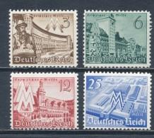 Deutsches Reich 739/42 ** Mi. 10,- - Nuovi