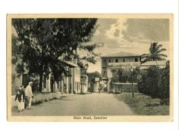 17968    -   Zanzibar    -    Main Road - Tanzanie