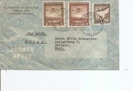 Chili ( Letttre Par Avion De 1947 De Santiago Vers La Suisse à Voir) - Chile