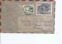 Chili ( Letttre De 1957 De Santiago Vers La Belgique à Voir) - Chile