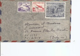 Chili ( Lettre De 1957 De Santiago Vers La Belgique à Voir) - Chile