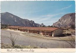 Motel, Chisos Mountain Lodge, Big Bend National Park, Texas, Used Postcard [18799] - Big Bend