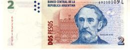 Argentina P.352  2  Pesos 2003 L  Unc - Argentina