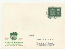 BDR GS 1957  KITZINGEN - Cartoline - Nuovi