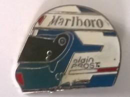Pin´s -  Marlboro - Alain PROST - - F1