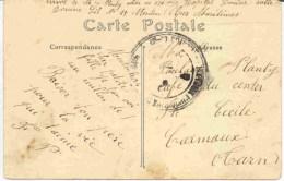 Cachet Hopitaux Municipaux De Menton - Poststempel (Briefe)
